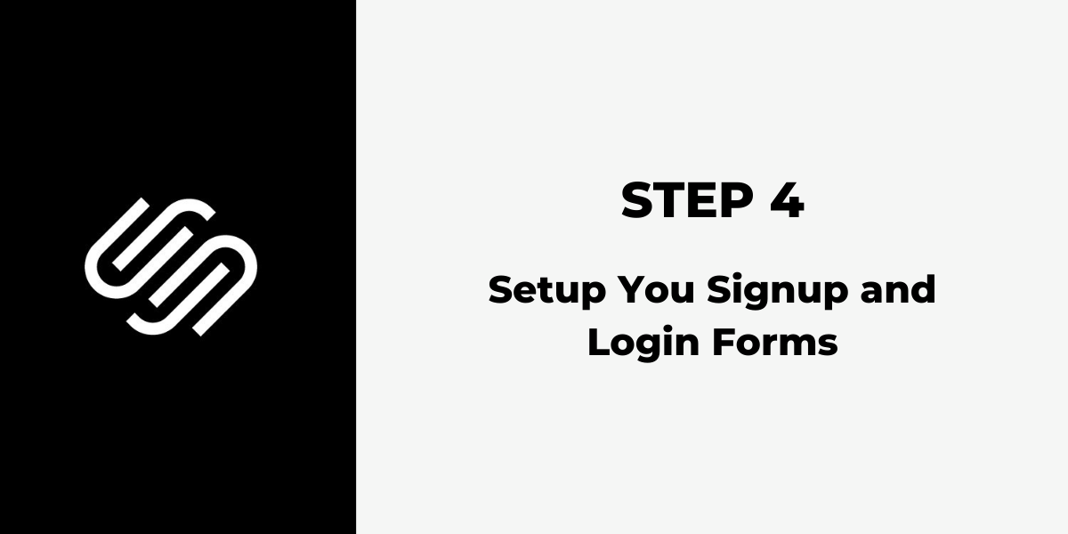 Squarespace Membership Site - Step 4